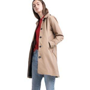 Mac coat insulated rain trench